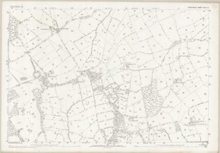 Derbyshire XLIV.16 (includes: Allestree; Duffield; Kedleston; Quarndon; Weston Underwood; Windley) - 25 Inch Map