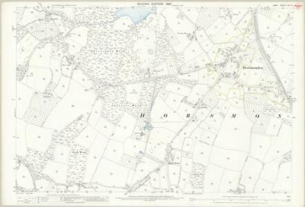 Kent LXI.12 (includes: Brenchley; Horsmonden) - 25 Inch Map