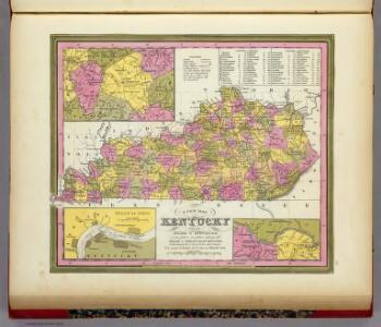 New Map Of Kentucky.
