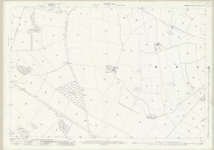 Yorkshire XXV.9 (includes: Forcett With Carkin; Gilling; Melsonby) - 25 Inch Map