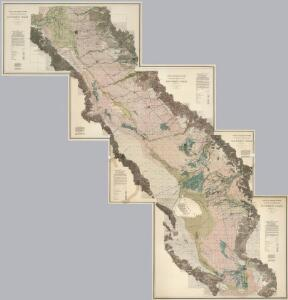 Composite:  Sheets Nos. 1-4, Irrigation Map of the San Joaquin Valley, California.