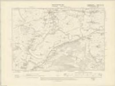 Cardiganshire XLI.NE - OS Six-Inch Map