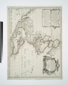 L'Amerique septentrionale: dressée sur les observations de Mrs. de l'Academie Royale des Sciences & quelques autres, & sur les memoires les plus recens / par G. De L'Isle, geographe; N. Guerard, im. et fec.