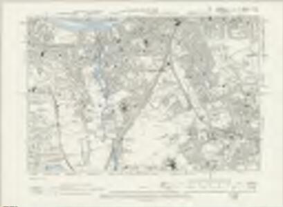 Surrey VII.NE - OS Six-Inch Map