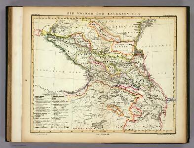 Die Volker des Kaukasus U.S.W.