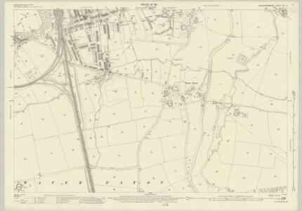 Buckinghamshire XV.14 (includes: Bletchley; Great Brickhill) - 25 Inch Map