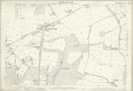 Sussex XXV.2 (includes: Lower Beeding; Slaugham) - 25 Inch Map