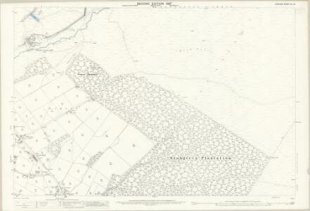 Durham XL.14 (includes: Eggleston; Marwood) - 25 Inch Map