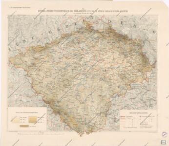 Hydrographische Übersichtskarte des Elbe-Gebietes und des in Böhmen gelegenen Oder-Gebietes