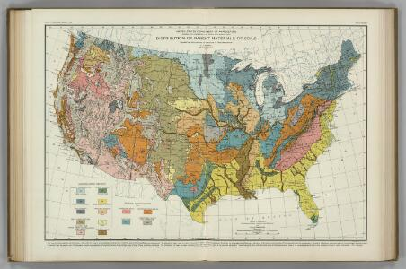 Parent Materials of Soils.  Atlas of American Agriculture.