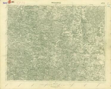 III. vojenské mapování 4352