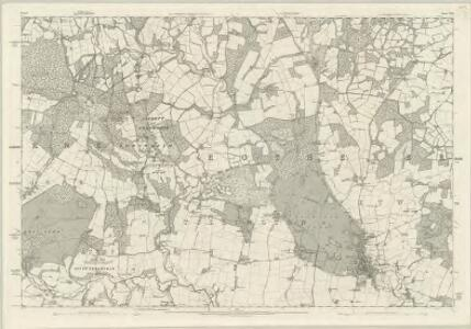 Sussex XXII - OS Six-Inch Map