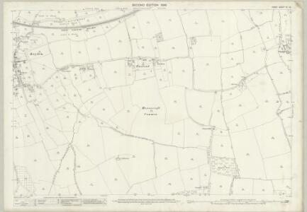Essex (1st Ed/Rev 1862-96) XL.12 (includes: Great Parndon; Roydon) - 25 Inch Map