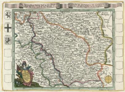Das Herzogthum Berg hat in die Länge 15 teutsche Meilen und in die dreite 7 =