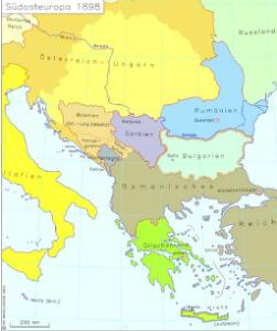 Südosteuropa 1898