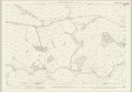 Devon CVII.6 (includes: Lydford) - 25 Inch Map