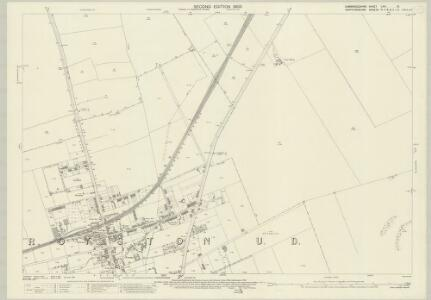 Cambridgeshire LVIII.10 (includes: Bassingbourn; Kneesworth; Melbourn; Royston) - 25 Inch Map