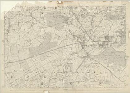 Lancashire CIII - OS Six-Inch Map
