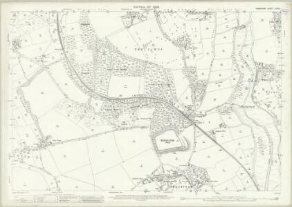 Hampshire and Isle of Wight LXXX.14 (includes: Boldre; Lymington; Sway) - 25 Inch Map