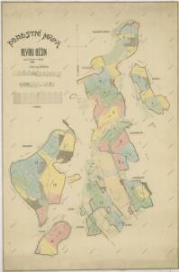 Porostní mapa revíru Běšiny