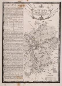 Situations Plan der Stadt Leipzig und deren Umgebungen nebst den Armee Stellungen während der am 16. bis 19. October 1813 zwischen den verbündeten Mächten und den Franzosen gelieferten Schlacht
