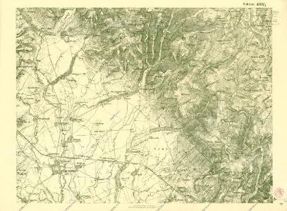 III. vojenské mapování 4058/4
