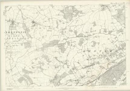 Surrey XXIX - OS Six-Inch Map