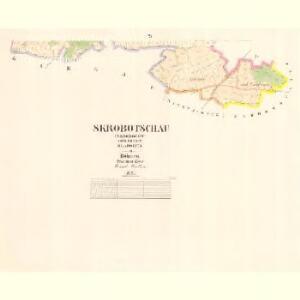 Skrobotschau (Skrobočow) - c7739-1-002 - Kaiserpflichtexemplar der Landkarten des stabilen Katasters