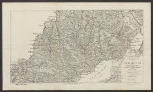 Carte delle valli del Liro e di Livio