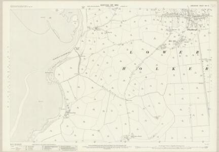 Lancashire XVII.10 (includes: Lower Holker) - 25 Inch Map