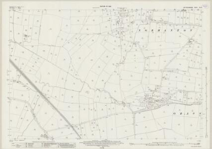 Nottinghamshire XX.15 (includes: Grassthorpe; Normanton On Trent; Sutton On Trent; Weston) - 25 Inch Map