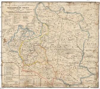 Historisch- statistisch- geographische Darstellung Koenigreichs Polen, 1770, 1773, 1793, 1795, 1807, 1815