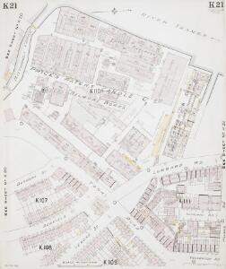 Insurance Plan of London South West District Vol. K: sheet 21