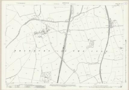Durham XLIII.7 (includes: Bradbury; Mordon; Woodham) - 25 Inch Map