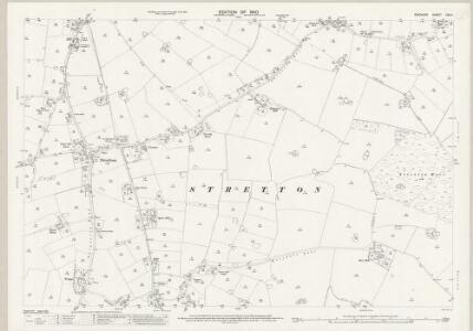 Cheshire XXV.4 (includes: Appleton; Hatton; Stretton) - 25 Inch Map