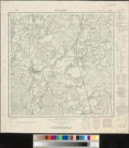 Meßtischblatt 1804 : Bersenbrück, 1938
