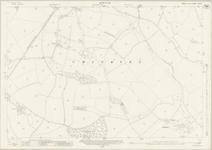 Essex (New Series 1913-) n XXIV.5 (includes: Broxted; Chickney; Henham) - 25 Inch Map