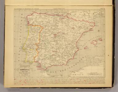 Espagne et Portugal 1640 a 1840.