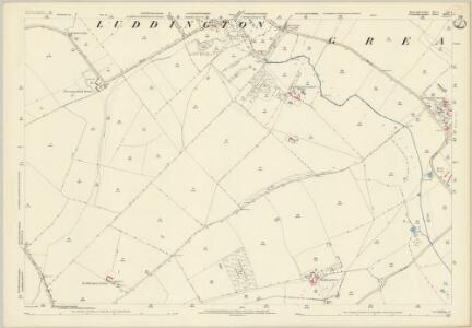 Huntingdonshire XII.4 (includes: Great Gidding; Luddington; Thurning; Winwick) - 25 Inch Map