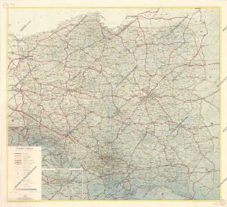 Mapa samochodowa Polski