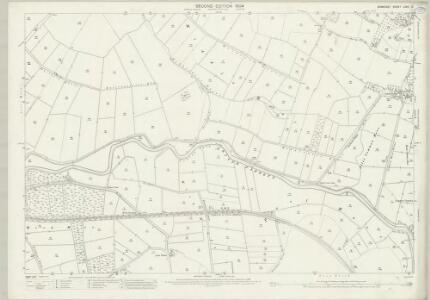 Somerset LXXII.3 (includes: Aller; Curry Rivel; Huish Episcopi; Langport) - 25 Inch Map