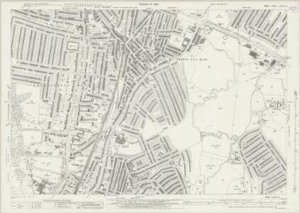 Essex (New Series 1913-) n LXXVIII.6 (includes: Ilford; Wanstead; Woodford) - 25 Inch Map