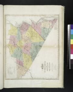 Map of the counties of Orange and Rockland / by David H. Burr ; engd. by Rawdon, Clark & Co., Albany, & Rawdon, Wright & Co., N. York.