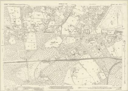Berkshire XXXIX.15 (includes: Sunninghill; Winkfield) - 25 Inch Map