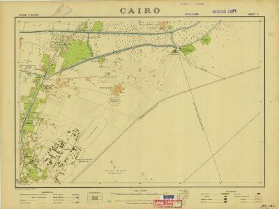 Cairo, 1:10.000 (Sheet 2)