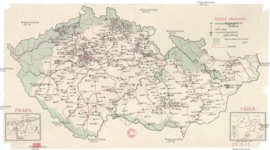 [Mapa sokolských jednot]