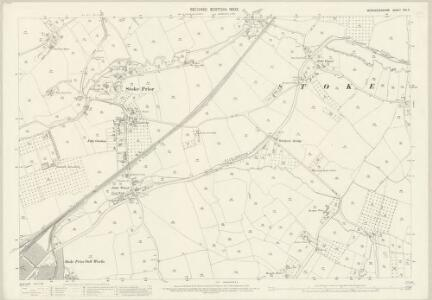 Worcestershire XXII.8 (includes: Stoke Prior) - 25 Inch Map
