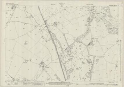Shropshire XXI.15 (includes: Broughton; Clive; Grinshill; Myddle) - 25 Inch Map