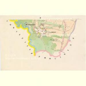 Mischenetz - c4924-1-002 - Kaiserpflichtexemplar der Landkarten des stabilen Katasters