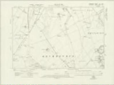 Hampshire & Isle of Wight LIV.NW - OS Six-Inch Map